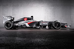 Sauber reveals grey car for 2013 season