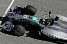 Hamilton watches Rosberg debut 2013 car