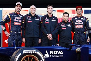 Toro Rosso reveals cautious car for 2013