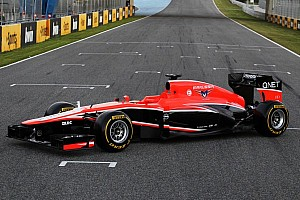 Formula 1 Breaking news Marussia kicks off new season by launching their MR02