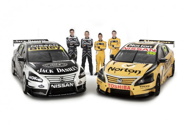Nissan Motorsport unveils four-car factory V8 Supercar team