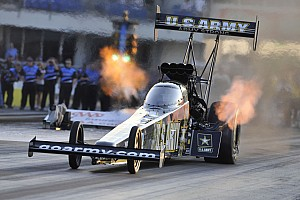 NHRA Qualifying report  Schumacher and Beckman hold provisional poles in NHRA Winternationals at Pomona