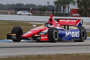 IndyCar Testing report Graham Rahal completes trouble-free day of testing at Sebring