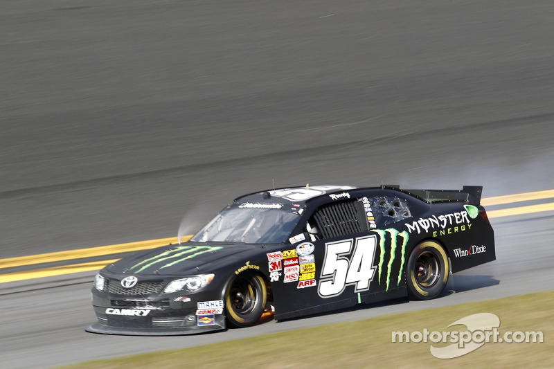 Kyle Busch finishes 32nd in NNS Daytona 300