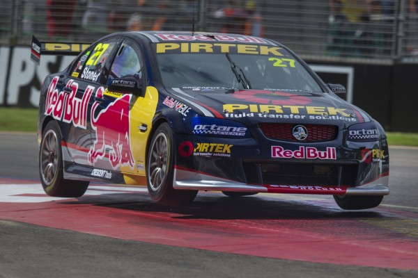 Casey Stoner impresses in first practice in Dunlop V8 Supercar series debut