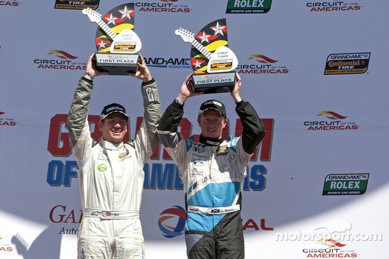 Home field advantage for CJ Wilson Racing in CTSCC at Austin