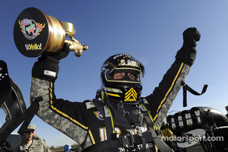 Tony Schumacher and Antron Brown are fully set for upcoming NHRA Grandnationals