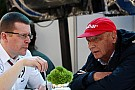Ecclestone happy Austrians in charge at Mercedes