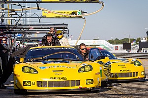 ALMS Race report Corvette Racing opens 2013 with GT win at Sebring
