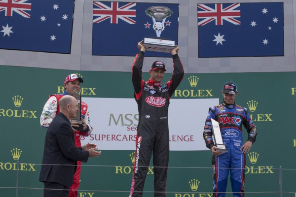 Coulthard earns another victory in the fourth race on the Albert Park Circuit