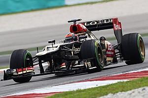 Formula 1 Breaking news Lotus flattered by Newey's interest in 2013 car