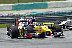 GP2 Race report An uneven start to the season for DAMS in Malaysia