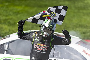 NASCAR Sprint Cup Race report Mission accomplished for Busch at Fontana