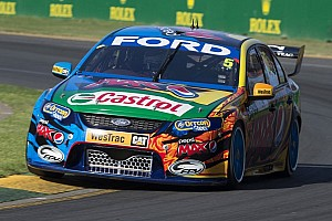 V8 Supercars Practice report Ford's Winterbottom surprises with fastest practice lap in Pukekohe