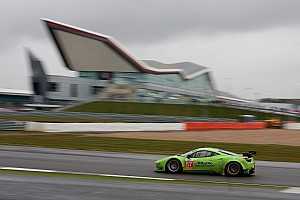 Krohn Racing qualifying 7th at Silverstone with their newly updated Ferrari F458