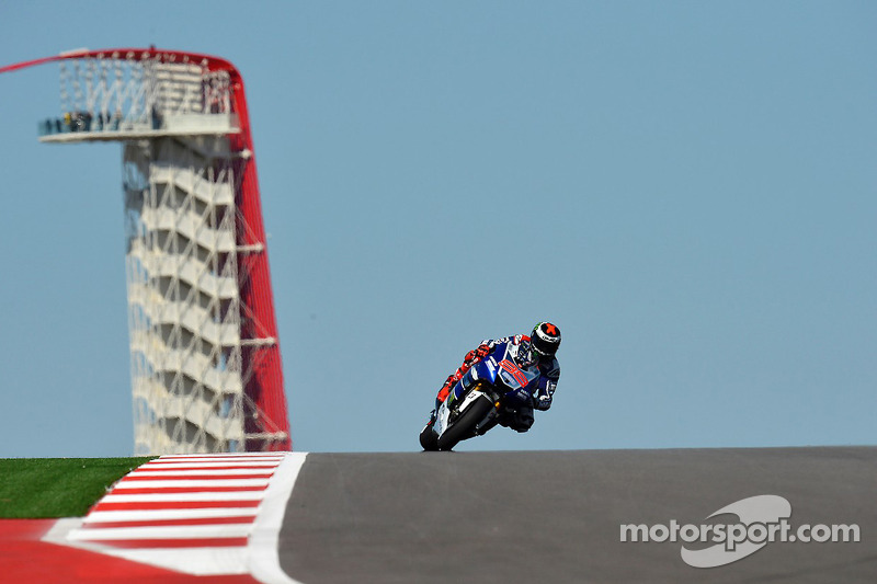 Lorenzo secures front row in challenging Austin qualifying