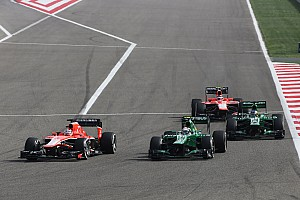 Caterham F1 Team quotes on todays race at Sakhir