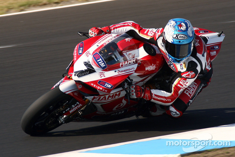 Team SBK Ducati Alstare riders are gearing up for Assen