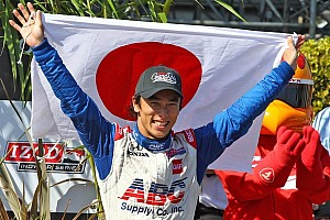 IndyCar Special feature After Long Beach success, Sato now eyes the win in Sao Paulo