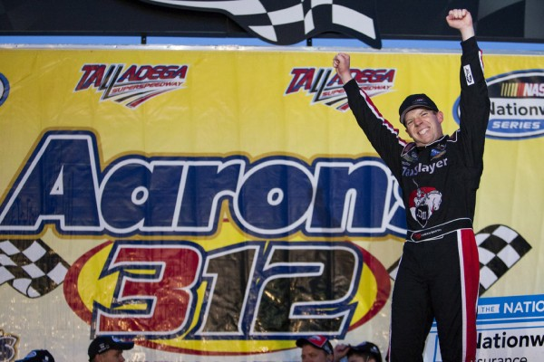 Regan Smith gets the win at Talladega