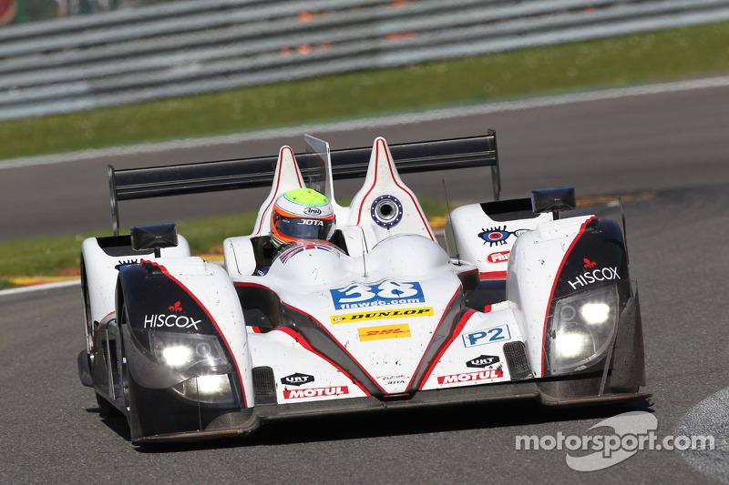 Jota Sport gatecrash podium at Spa-Francorchamps