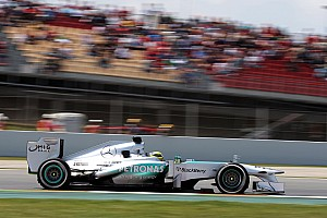 Mercedes not expected to win in Spain
