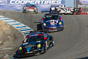 ALMS Race report TRG finishes strong at Laguna Seca