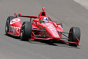 IndyCar Race report Franchitti tops Wednesday practice