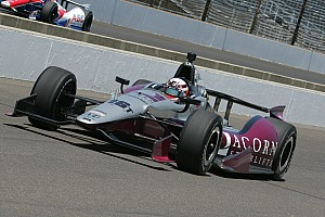 IndyCar Qualifying report Jakes' third attempt yields a 20th place starting spot for the Indy 500