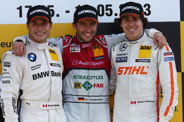 A dominant lights-to-flag win for Mike Rockenfeller at Brands Hatch