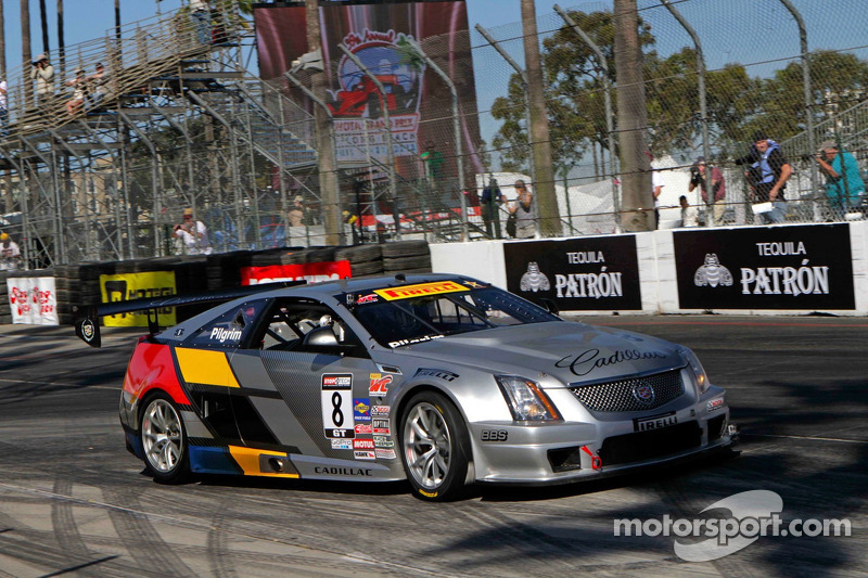 Team Cadillac driver Pilgrim second in GT at COTA