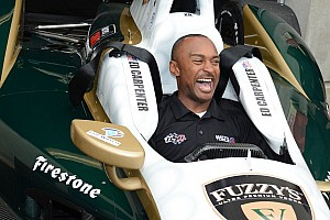 Drag racer Brown steps into Carpenter's IndyCar
