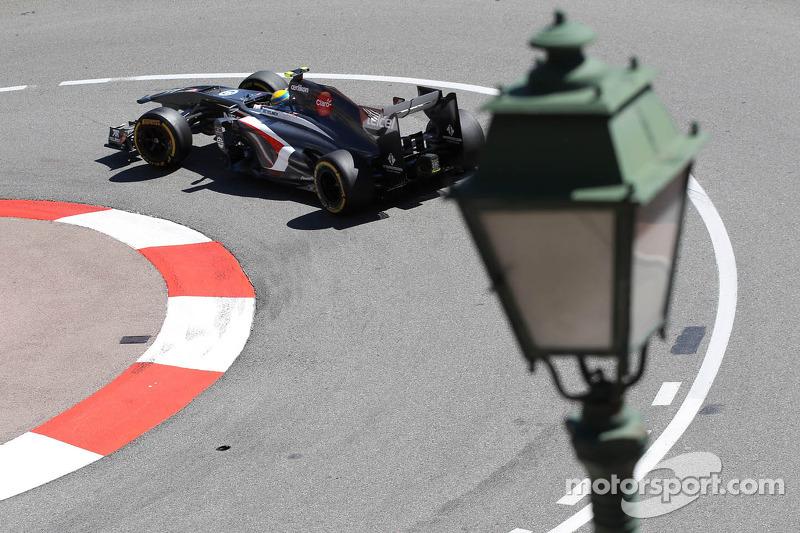 Sauber team has trouble-free Thursday in Monaco