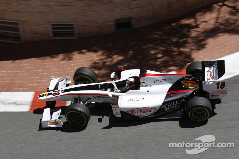 Great recovery for Coletti in Monaco's feature race
