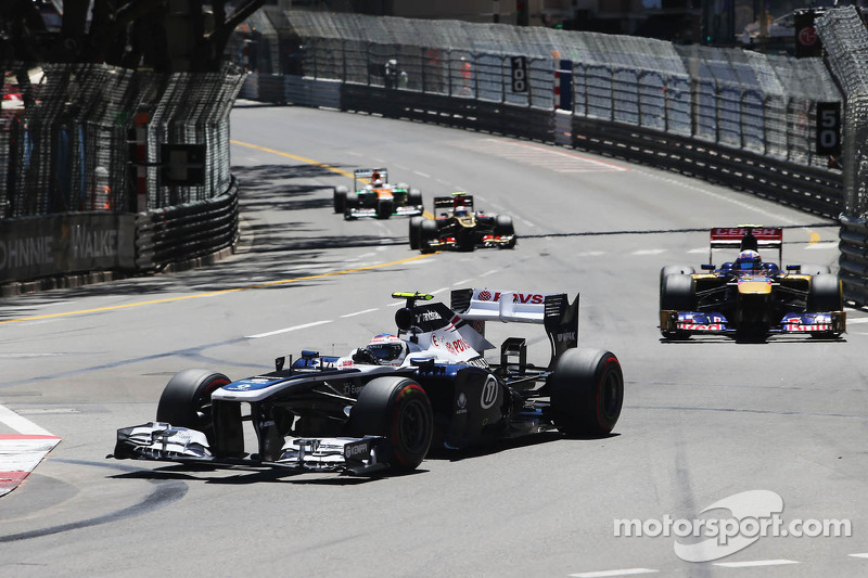 Bottas drove a solid race and Maldonado crashed in Monaco GP