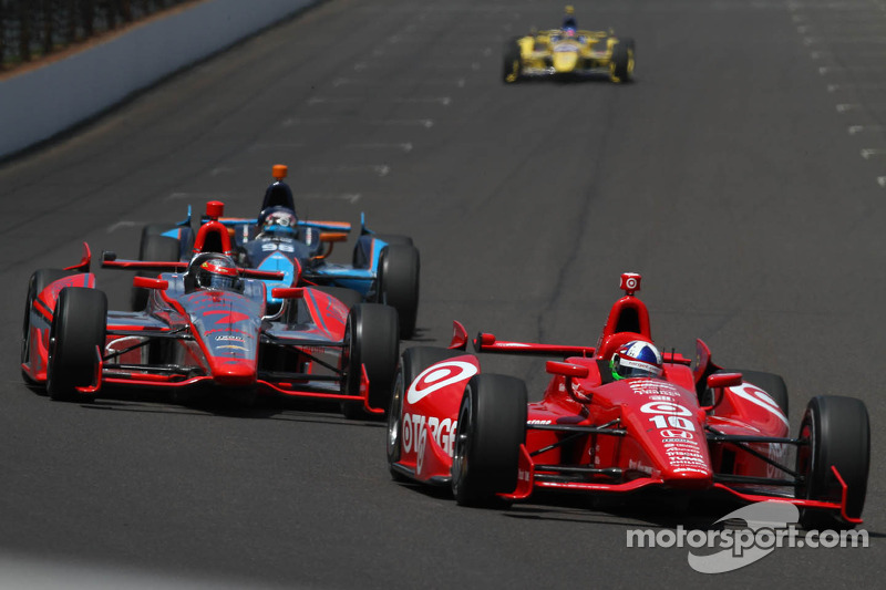 Dixon 14th, Franchitti 23rd in the 97th running of the Indianapolis 500