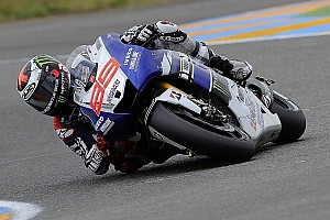 MotoGP Practice report Lorenzo leads the way on day one at Mugello