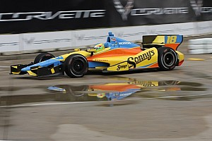 IndyCar Qualifying report Franchitti and Conway win Indy Dual pole spots
