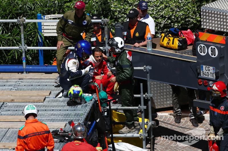 Massa had medical checks in Brazil after Monaco