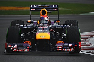 Formula 1 Qualifying report Red Bull grabs pole after tricky qualifying section in Montrteal