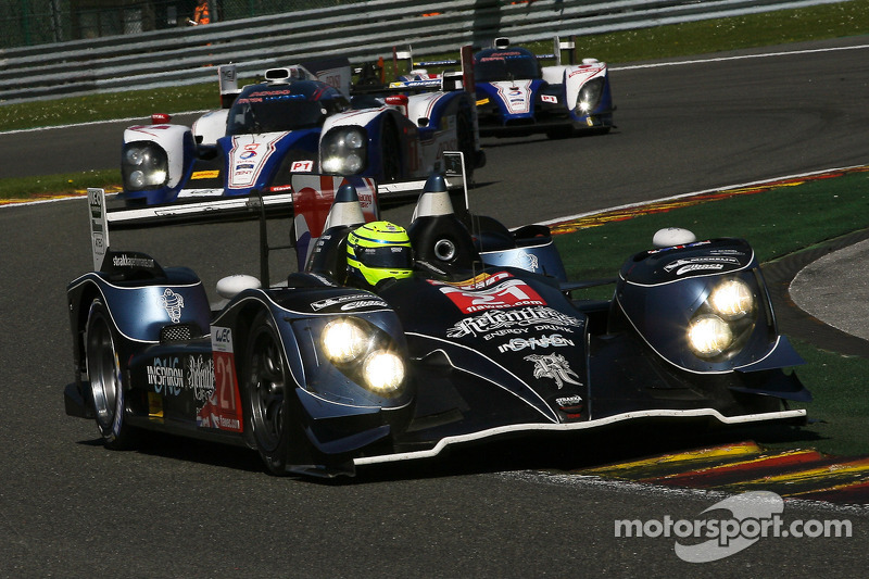 Only all-British driver line-up completes Le Mans test