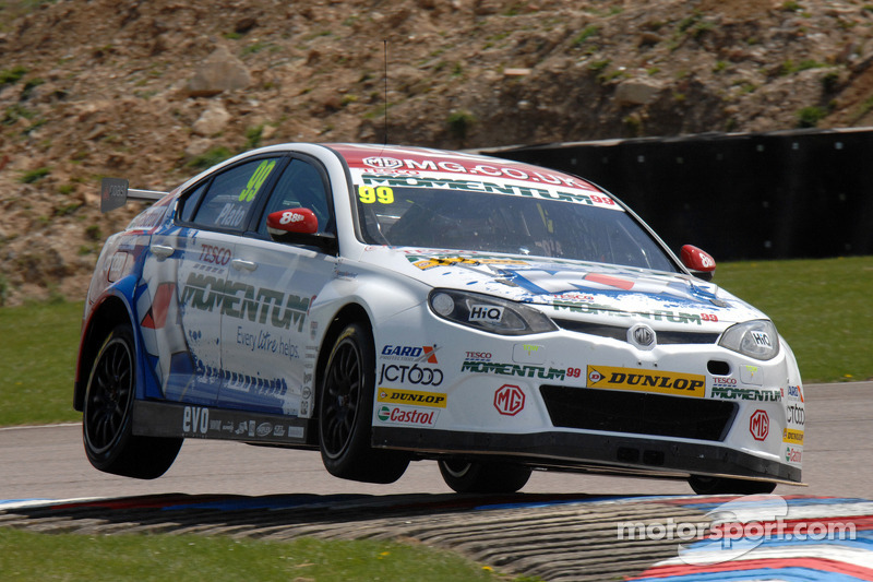 Jason Plato on fire at Oulton Park!