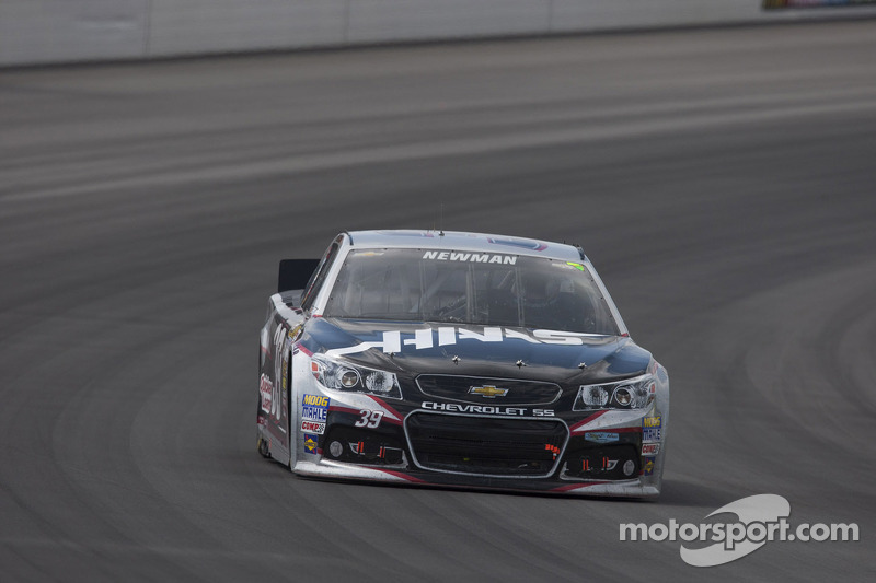 Newman finishes fifth at Pocono