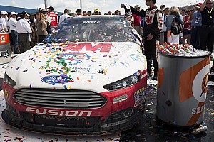 NASCAR Sprint Cup Breaking news RFR's Biffle captures milestone 1,000th win for Ford