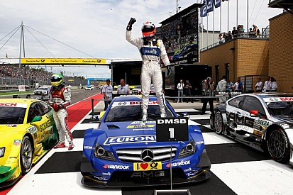 Paffett claimed his 20th DTM victory at the  Lausitzring
