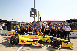 IndyCar Qualifying report KVRT's Kanaan qualifies eighth for the Iowa Corn Indy 250