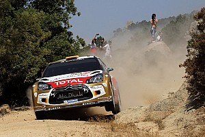 WRC Race report Citroën's Sordo was top finisher in Rally Italia Sardegna