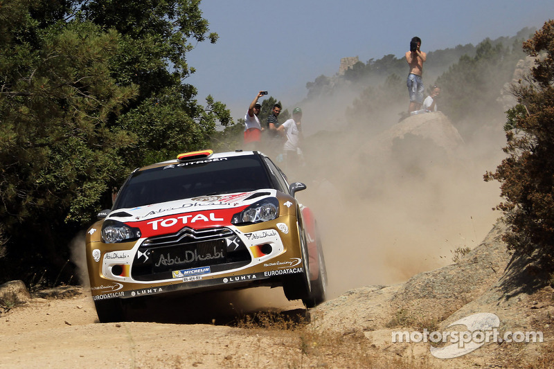 Citroën's Sordo was top finisher in Rally Italia Sardegna