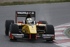 GP2 Qualifying report Marcus Ericsson grabs Silverstone pole