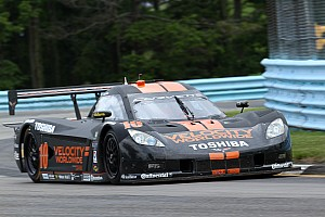 Grand-Am Qualifying report Rain puts Angelelli, Fogarty on front row at Watkins Glen